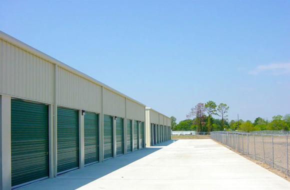 Americas Best Storage fenced in location